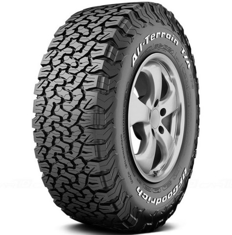 BF Goodrich All Terrain КО2 R16 265/75 119/116R