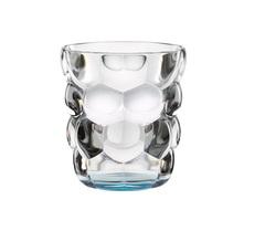 Набор из 2 стаканов для воды с голубым донышком Bubbles, 330 мл, фото 2