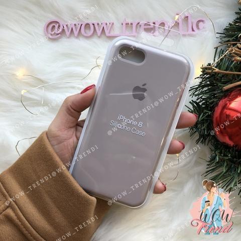 Чехол iPhone 7/8 Silicone Case /lavender/ лаванда 1:1