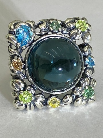 Беатрис ( кольцо  из серебра)