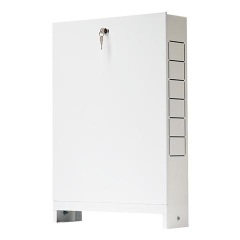 Шкаф распределительный наружный STOUT - 651x365x120 мм (с накладной дверцей)