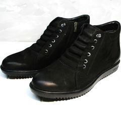 Зимние ботинки мужские Luciano Bellini 71783 Black