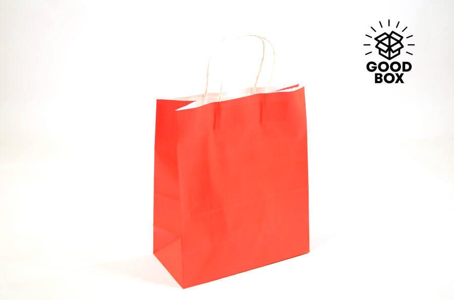 Цветные крафт пакеты Алматы