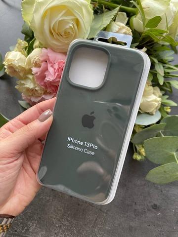 Чехол iPhone 13 Silicone Case Full /cyprus green/