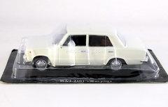 VAZ-2101 Lada white 1:43 DeAgostini Auto Legends USSR #25