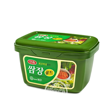Соевая и смешанная перцовая паста Синсонг Самджянг 500г Корея