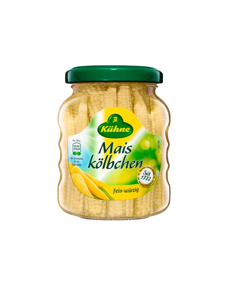 Кукурузные початки Kuhne 180 гр.