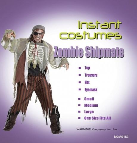 Костюм Пират-зомби