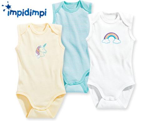 Боди детское Impidimpi 3 шт.