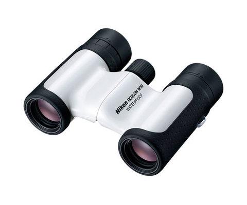 Бинокль Nikon Aculon W10 8x21 белый