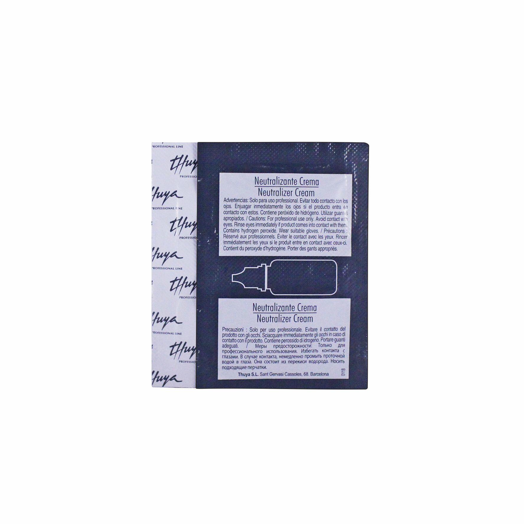 Thuya - Саше для ламинирования ресниц. Шаг 2 —  Нейтрализатор крем  для ресниц, 2 мл
