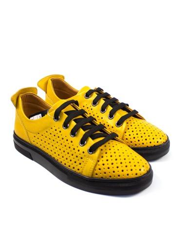 желтые кеды Mario Muzi
