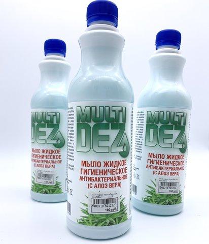 Мыло жидкое МультиДез алое вера 500мл
