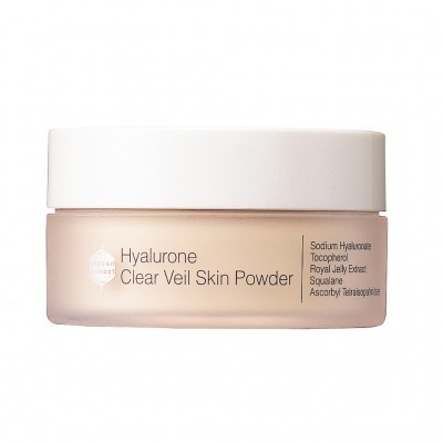 Bb Laboratories Специальный уход: Пудра рассыпчатая гиалуроновая с перламутром SPF 7 (Hyalurone Clear Veil Skin Powder), 12г