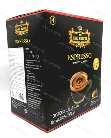 Вьетнамский растворимый кофе King Coffee Espresso, 100 пак.