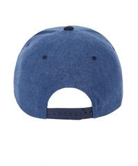 Бейсболка для мальчика с прямым козырьком  SNAPBACK темно-синяя купить