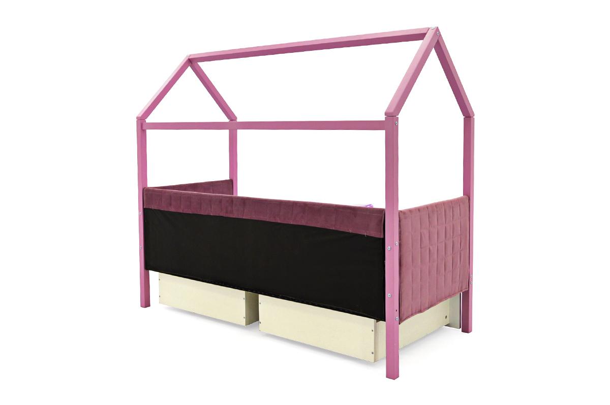 Кровать-домик мягкий «Svogen лаванда»