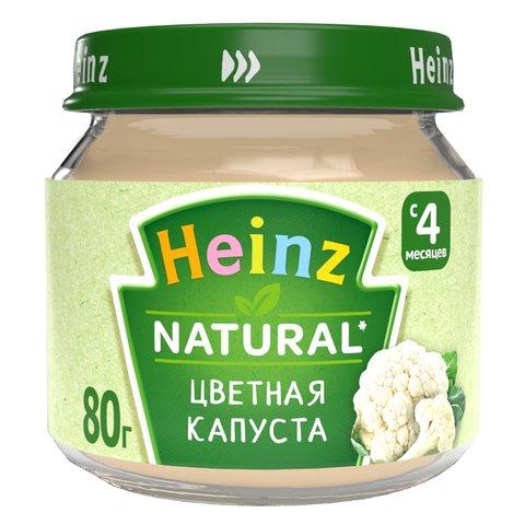 Пюре Heinz цветная капуста 80 гр. (4+ мес.)