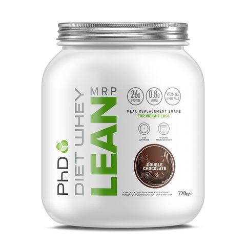 PhD Diet Whey Lean MRP, диетическая протеиновая смесь, вкус Двойной Шоколад, 770 гр.
