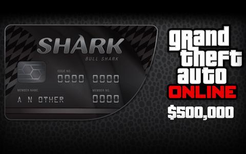 Grand Theft Auto Online : Bull Shark Cash Card (для ПК, цифровой ключ)