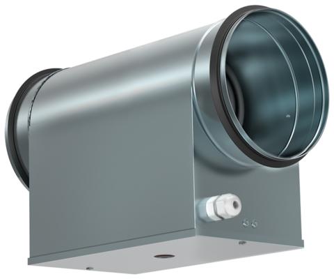 Электрический нагреватель Shuft EHC 125-1,2/1 для круглых каналов