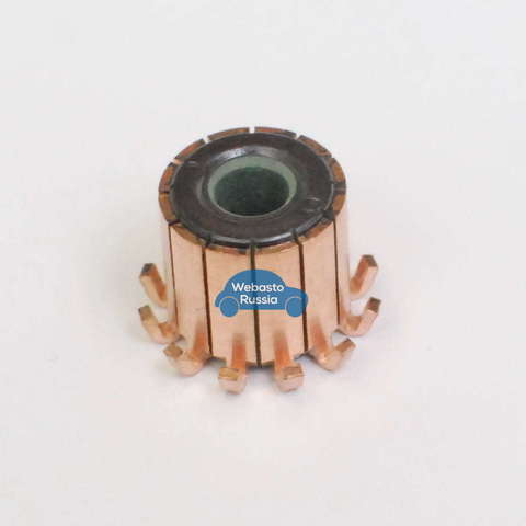 Коллектор мотора нагнетателя Webasto AT 3500/5000, Thermo 90/90ST, HL24/HL32(Aitronic D3LC, D3LCC)(неориг.)