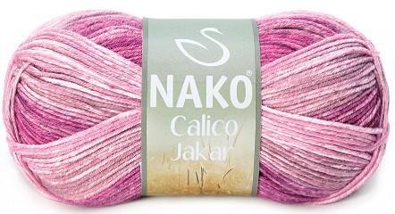 Пряжа Nako Calico Jakar арт. 31543