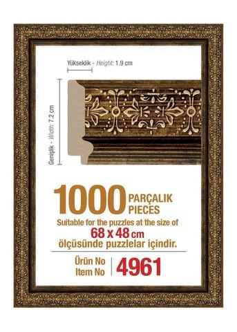 Pazl çərçivəsi (68 x 48 cm.) 4961