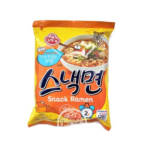 Лапша бп OTTOGI Snack ramen со вкусом говядины 108г Корея