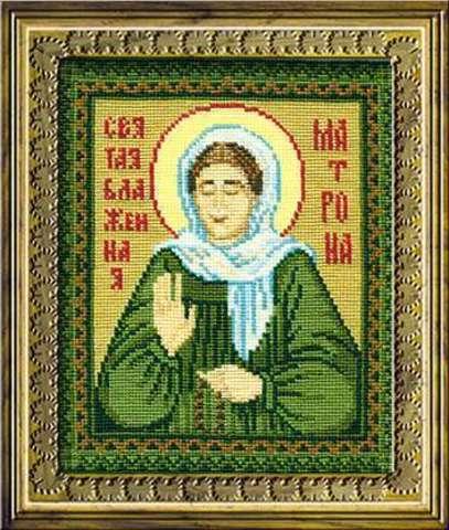 Набор для вышивания крестом «Святая блаженная Матрона» (876)