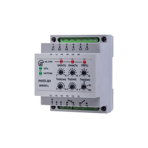 Трехфазное реле напряжения и контроля фаз - РНПП-301