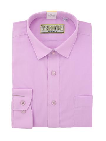 Рубашка классическая однотонная для мальчика
