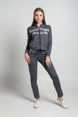 Спортивный костюм с серыми вставками недорого
