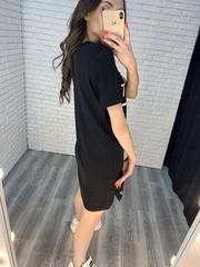платье-туника черная интернет магазин