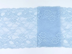 Эластичное кружево, ОПТ 21,5 см, нежно-голубое, (Арт: EK-2144), м