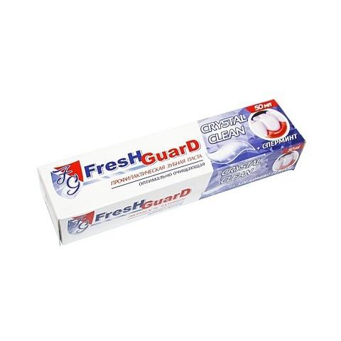 Зубная паста Fresh Guard Crуstal Clean, 50 мл.