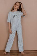 Пижама Enjoy Today, серый меланж