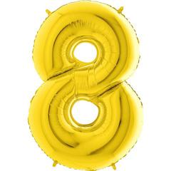 Цифра 8 (Золотая)