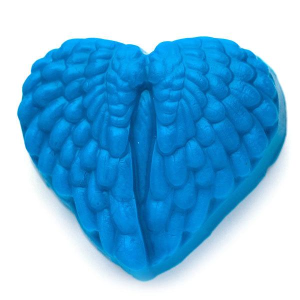Форма для мыла Сердце из крыльев