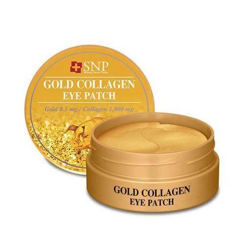 SNP Gold Collagen Eye Patch патчи для глаз на основе экстракта коллагена