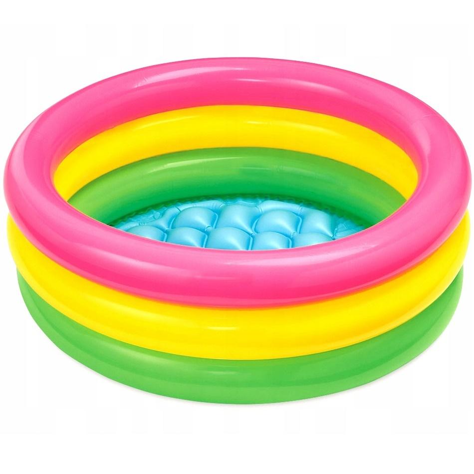 Товары для пляжа Надувной бассейн для малышей «Радуга» 61х22 бассейн_57107.jpg