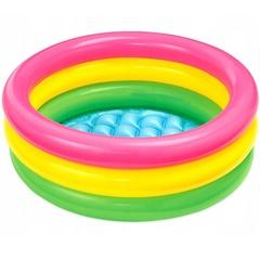 Надувной бассейн для малышей «Радуга» 61х22