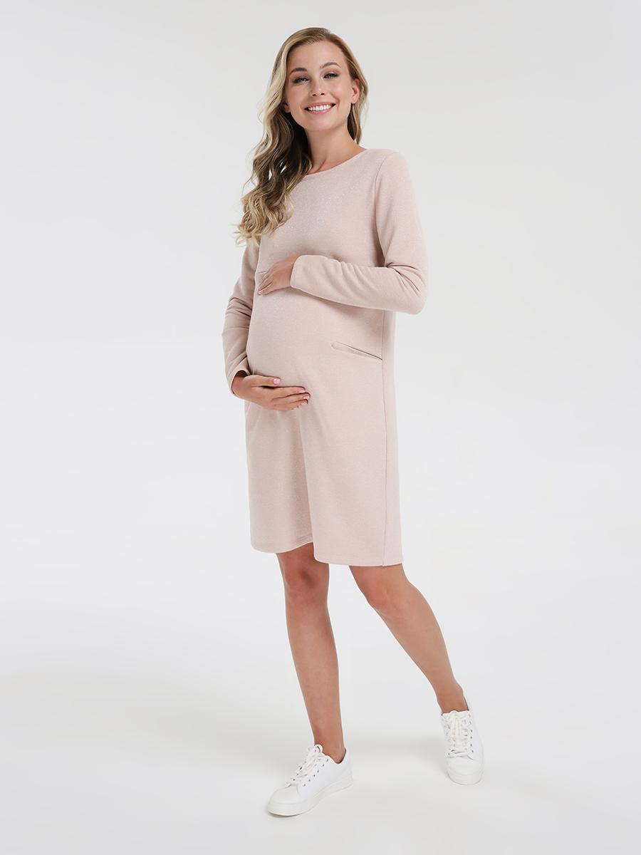 Платье-толстовка для кормящих мам - Фото 5