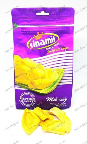 Джекфрут сушеный Vinamit, 100-200 гр.