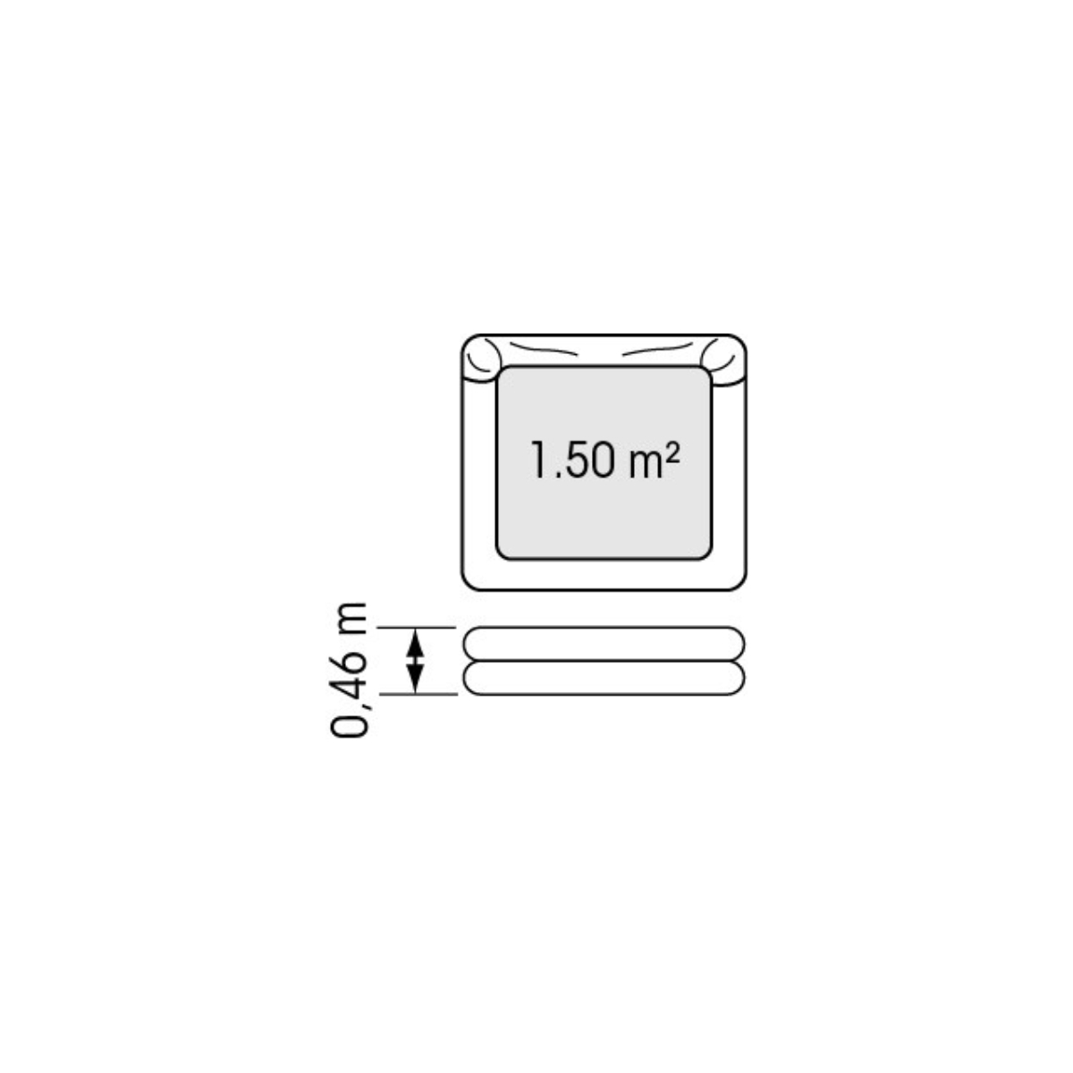 Coastal liferaft, ISO 9650-2