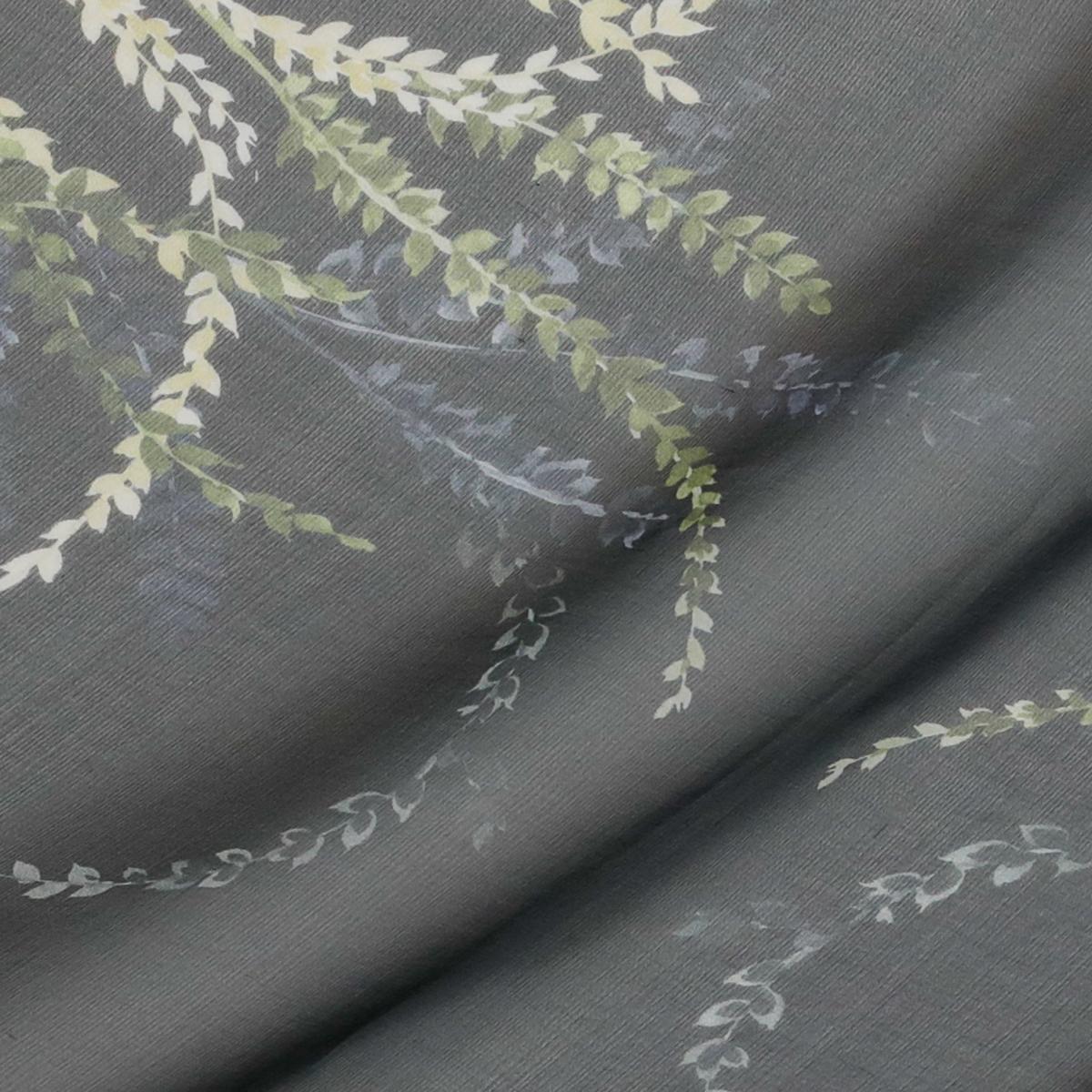 Квадратный купон шелкового шифона Ruffo Coli с бордюром из полевых цветов