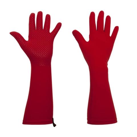 Перчатки садовые FOXGLOVES ELLE Grip тюльпан (красный)