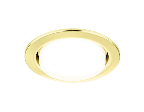 Встраиваемый точечный светильник G101 GD золото GX53
