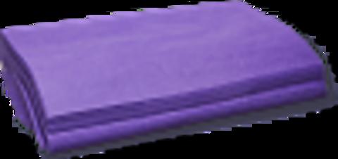 Коврик СМС фиолетовый 40*40 см 100шт/уп МИА