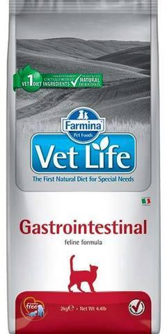 FARMINA Vet Life Сухой корм для кошек при нарушениях пищеварения Gastrointestinal